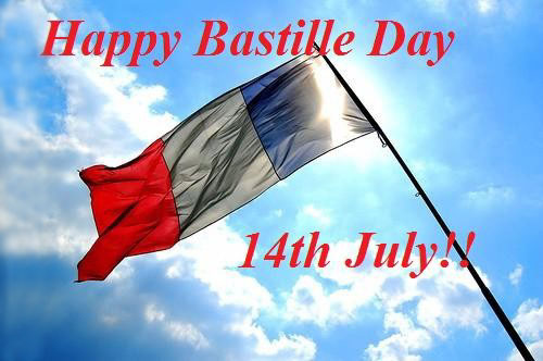 Happy Bastille day from Cle France