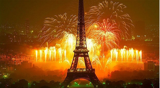 How do the French celebrate New Year?