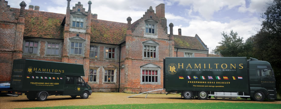 Hamiltons Removals are reliable