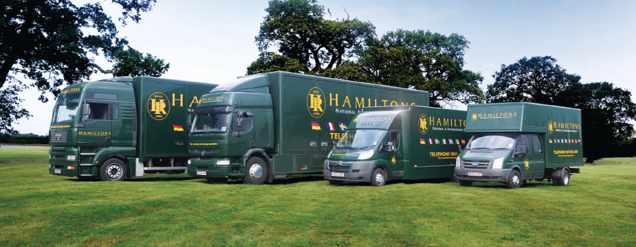 Hamiltons Removals to and from France