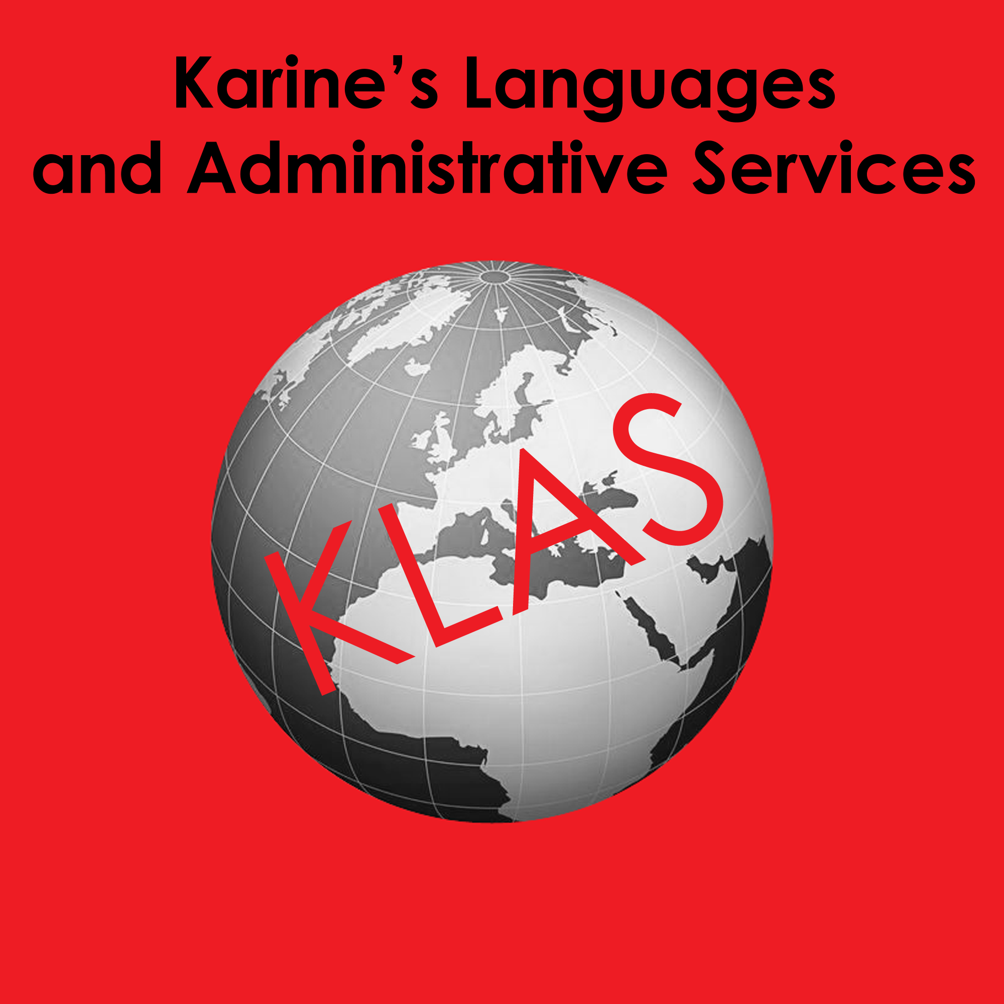 KLAS French translation services logo