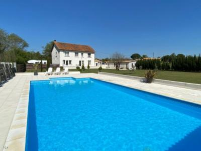 House With Riverside Plot and Heated Swimming Pool