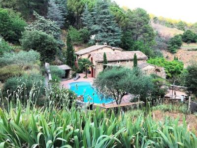 Villa and Guest Gite with Pool in Private Setting