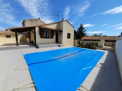 Charming Villa With 100 M2 Of Living Space On 448 M2 With Pool In A Valued And Quiet Area.