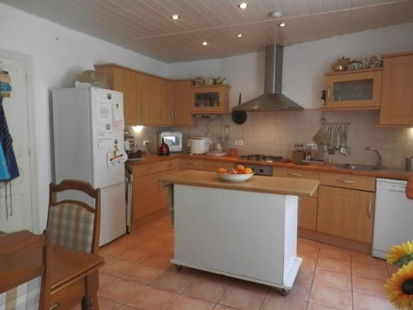 Pretty Village House With Gite, Garage And Terrace, In A Beautiful Riverside Village.