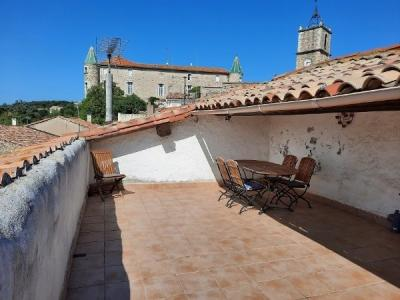 Charming Village House With A Large Roof Terrace With Panoramic Views !
