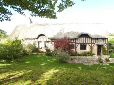 Impressive Thatched Cottage with Gardens