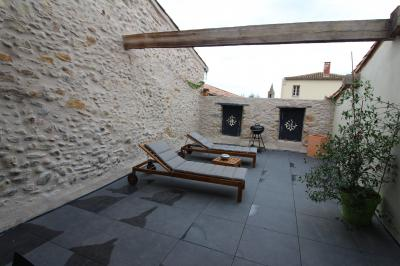 Renovated House With Roof Terraces
