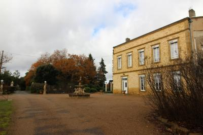 Manor House With 3 Hectare Garden