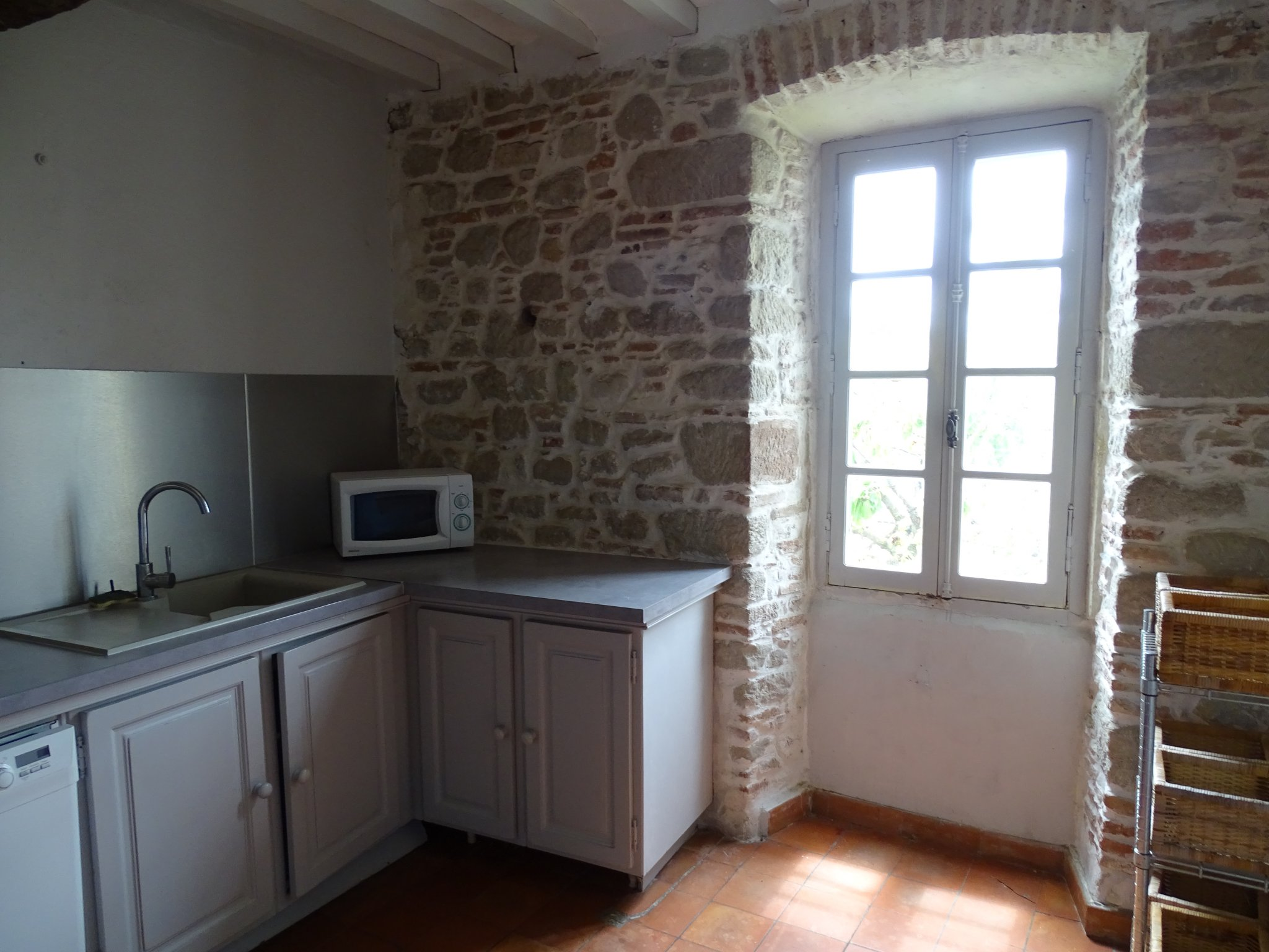 Renovated Village House with View of The Pyrenees